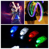 LED Finger Glow Lights for Cruise Ship Glow Parties - 80s Rock-N-Glow Party - H2Glow
