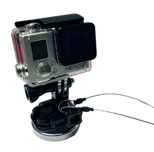 Load image into Gallery viewer, GoPro Magnet Cruise Ship Mount w/ Safety Tether - Attach your GoPro to the ship!-CruiseHabit