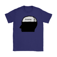 Load image into Gallery viewer, Cruising on the Brain T-Shirt (Women's)-CruiseHabit