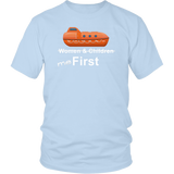 "To The Lifeboats! - ""Me First"" T-Shirt (Various Styles)-CruiseHabit"