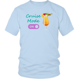 Cruise Mode 'On' - Tropical Cruise Shirt - Various Styles - CruisieHabit Cruise Accessories & Gear