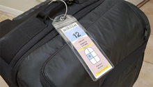 Load image into Gallery viewer, Luggage Tag Holders - Holds Tags for Royal Caribbean, Celebrity-CruiseHabit