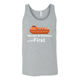 "To The Lifeboats! - ""Me First"" T-Shirt (Various Styles) - CruisieHabit Cruise Accessories & Gear"