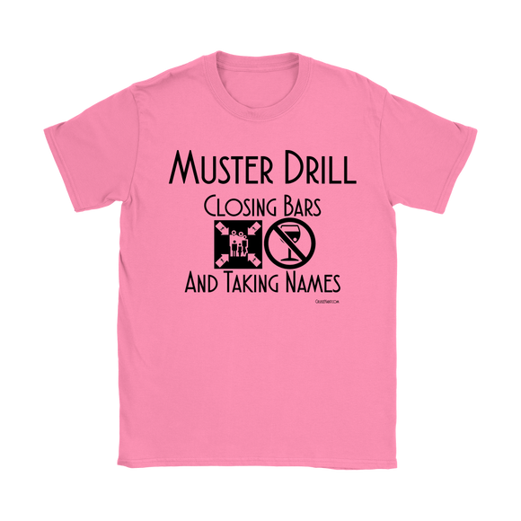 Muster Drill Shirt (Women's) - CruisieHabit Cruise Accessories & Gear