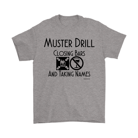 Muster Drill Shirt (Men's) - CruisieHabit Cruise Accessories & Gear