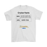 Cruise Facts Shirt (Men's Tees & Tanks) - CruisieHabit Cruise Accessories & Gear