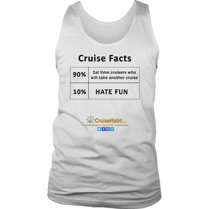 Cruise Facts Shirt (Men's Tees & Tanks)-CruiseHabit
