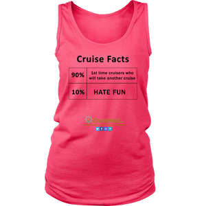 Cruise Facts Shirt (Women's Tees & Tanks)-CruiseHabit