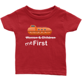 "To The Lifeboats! -  ""Me First"" Infant Onesie or Shirt - CruisieHabit Cruise Accessories & Gear"