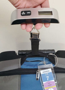 Compact Digital Luggage Scale