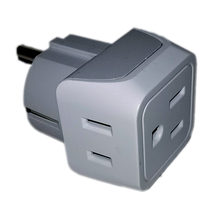 Load image into Gallery viewer, 2 to 1 Power Adapter - Gain two additional power outlets in your stateroom-CruiseHabit