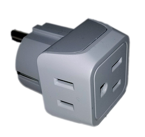 2 to 1 Power Adapter - Gain two additional power outlets in your stateroom - CruisieHabit Cruise Accessories & Gear