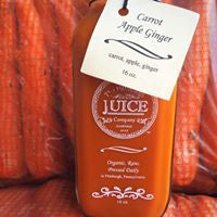 Carrot Apple Ginger