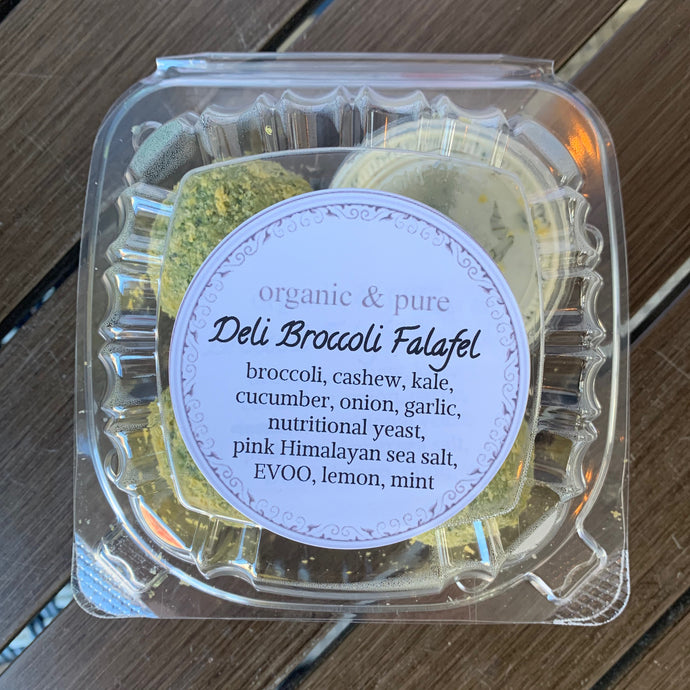 Deli Broccoli Falafel