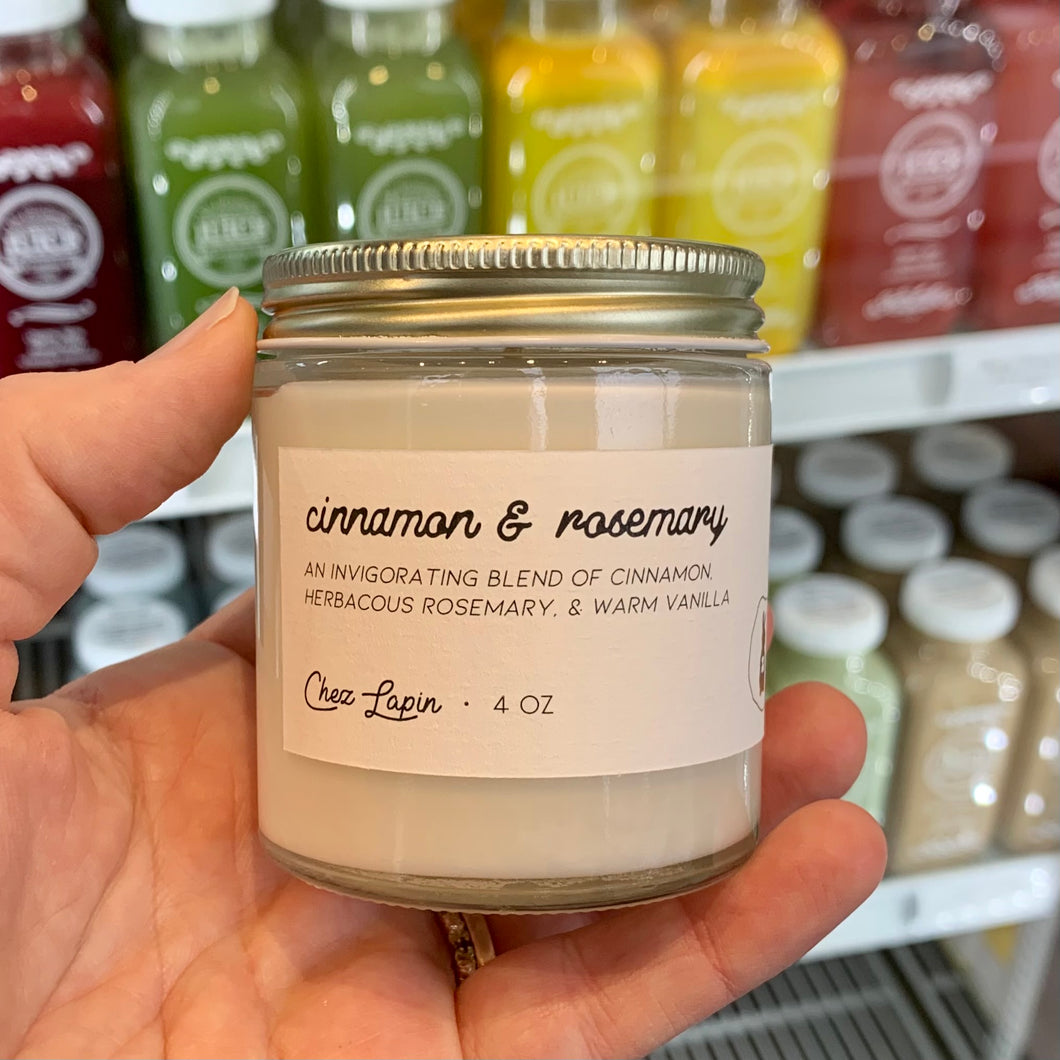 Cinnamon Rosemary Candle