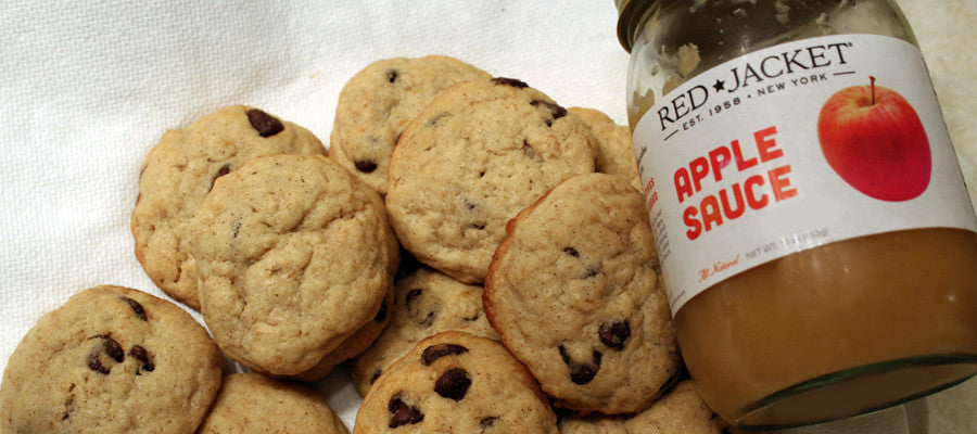 Applesauce Chocolate Chip Cookies