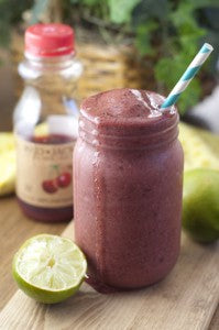 Cherry-Coconut-Lime-Smoothie-Recipe-2