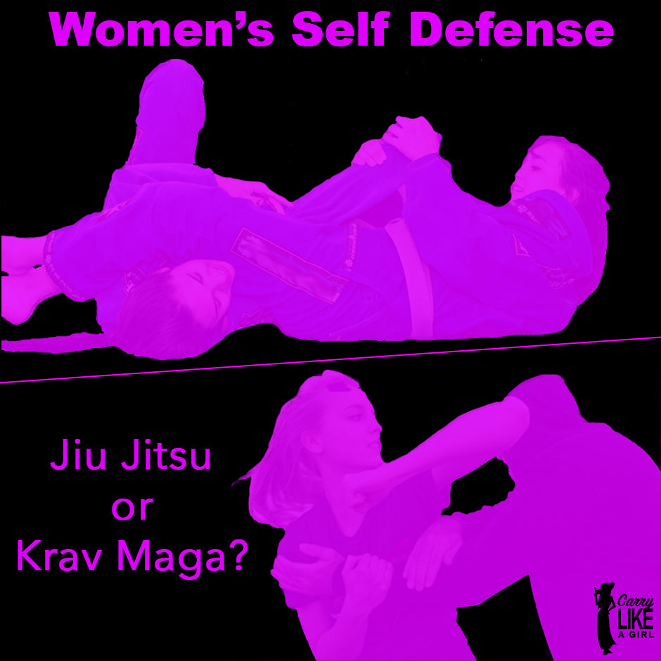 Jiu Jitsu or Krav Maga? - Martial Arts for Women