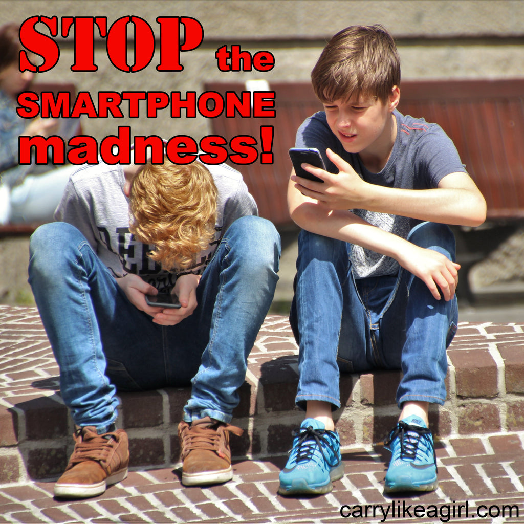 Stop the Smartphone Madness with Kids!