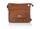 Roma 7028 Leather Classic Crossbody - Concealed Carry Purse