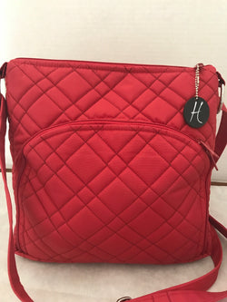 HidingHilda 3 Zip Messenger - Crimson
