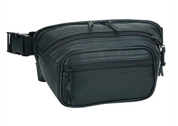 Roma 7070 - Leather Concealed Carry Fanny Pack