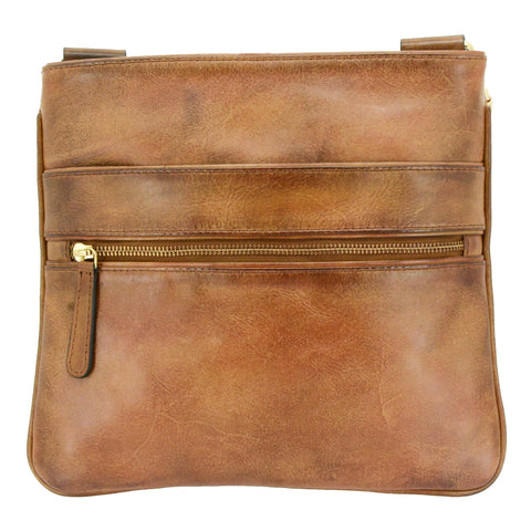 Cameleon Hephaestus Slim Crossbody Leather Concealed Carry Handbag