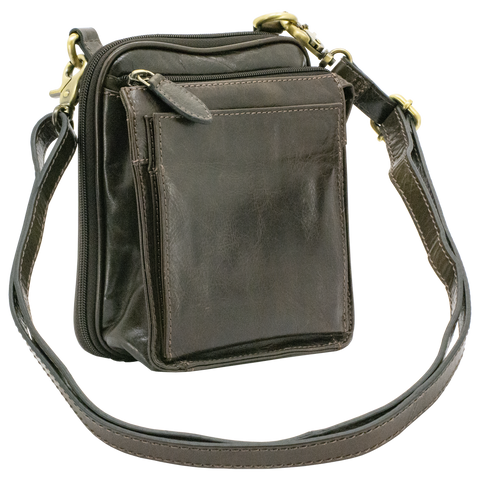 Cameleon Nemesis Leather Concealed Carry Handbag