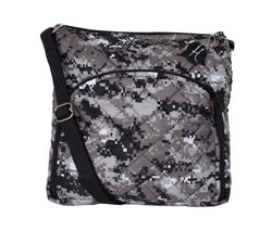 HidingHilda Michelle (aka Princess Gunslinger) - Digital Camo Concealed Carry Handbag