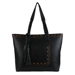 Lady Conceal Cora Stitched Concealed Carry Tote