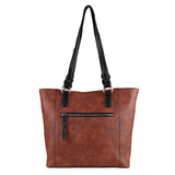 Lady Conceal Grace Two-tone Concealed Carry Tote with Wallet