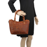 Lady Conceal Sadie Leather Concealed Carry Tote