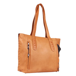 Lady Conceal Norah Leather Concealed Carry Tote