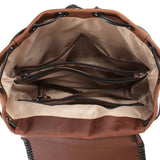 Lady Conceal Allie Leather Concealed Carry Backpack