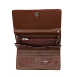 Lady Conceal RFID Blocking Multi-Card Clutch Morgan Wallet
