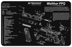 Walther® PPQ Cleaning Mat