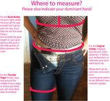 The Fancy Pants Holster – TACTICAL LACE - Peach