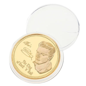 Elvis Presley Commemorative Gold Coin
