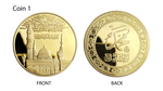 Load image into Gallery viewer, Set Of 3 Mecca Quran Medallions