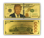 Load image into Gallery viewer, Gold Donald Trump $1000 Bills