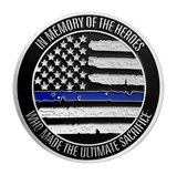Blue Lives Matter Medallion