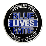 Load image into Gallery viewer, Blue Lives Matter Medallion