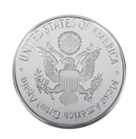 Load image into Gallery viewer, Commemorative Ronald Reagan Silver & Colored Coin