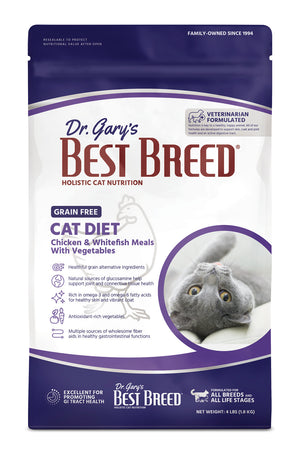 Dr. Gary's Best Breed Holistic Chicken, Whitefish & Vegetables