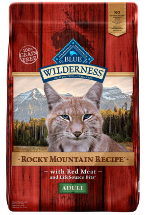 Blue Wilderness Rocky Mountain Recipe with Red Meat