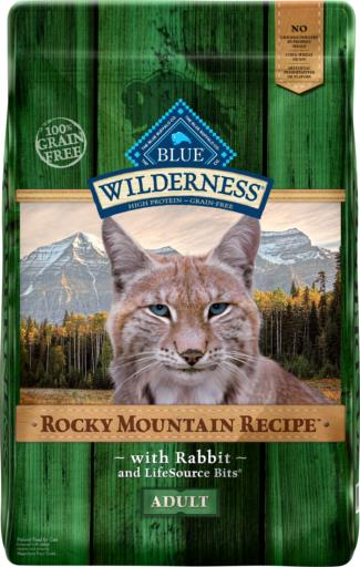 Blue Wilderness Rocky Mountain Recipe with Rabbit