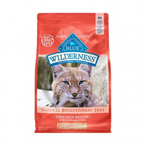 Blue Wilderness Nature's Evolutionary Diet Indoor Hairball & Weight Control