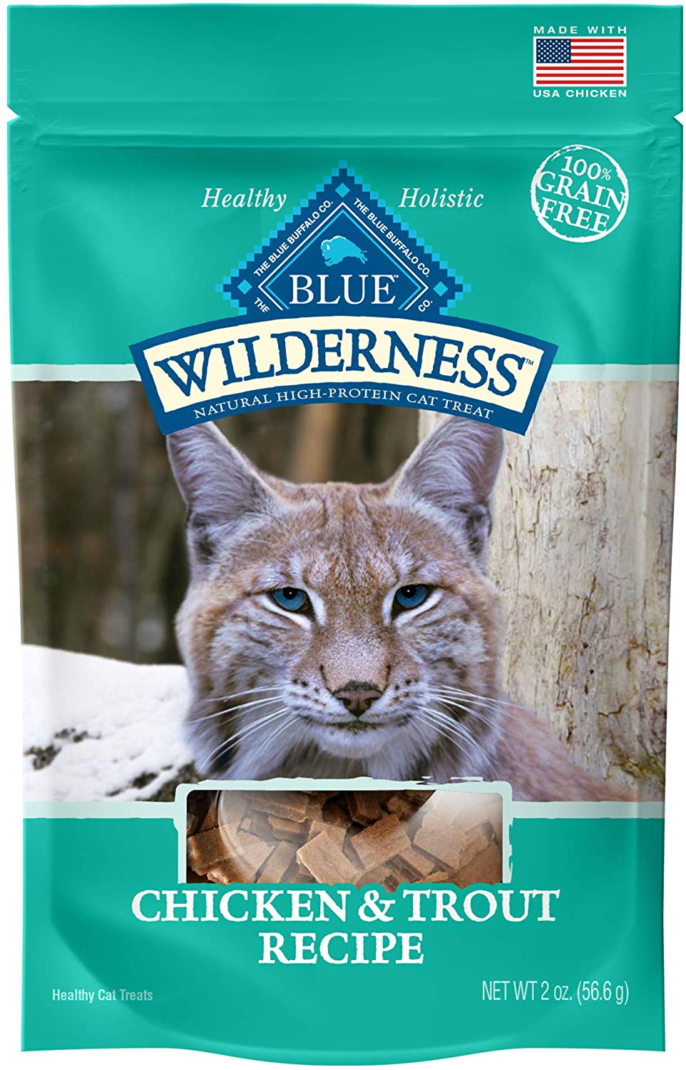 Wilderness Grain-Free Chicken & Trout Treats