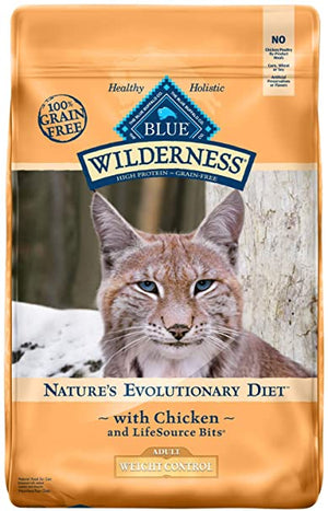 Wilderness Weight Control Chicken for Adult Cats
