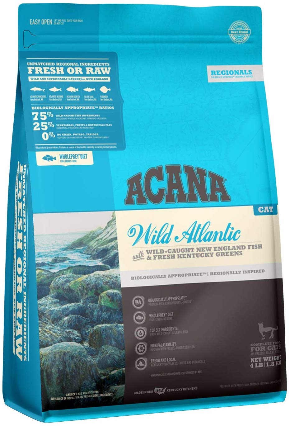 Wild Atlantic Wild-Caught Fish & Greens